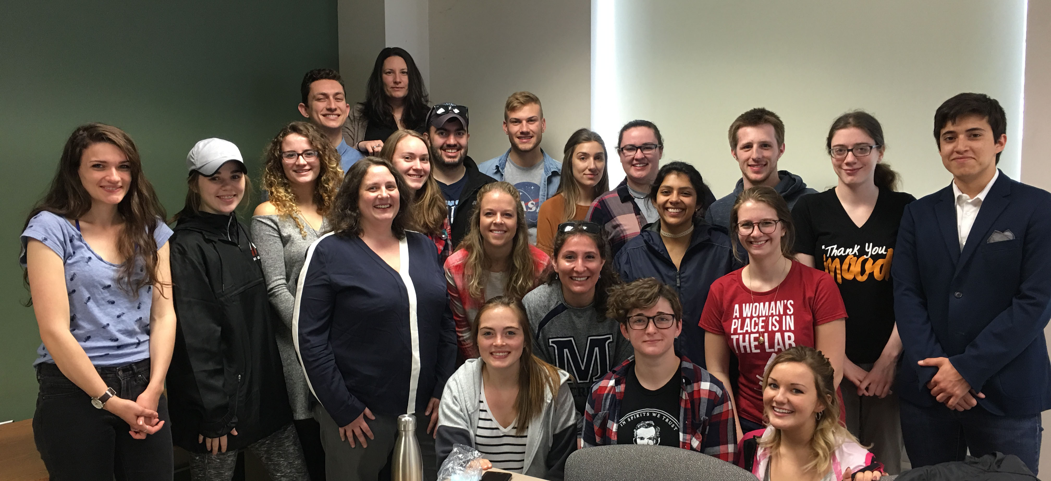 Townsend Lab Spring 2017 Lab Members